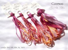 Silk Ribbon / Selyemszalag | Nina's Threads