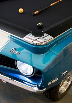 1969 Camaro SS Pool Table  by  www.CarPoolTables.com