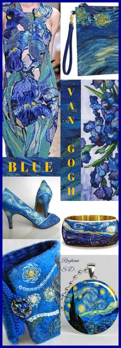 '' Van Gogh Blue '' by Reyhan S.D.