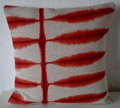 Scion SHIBORI fabric cushion covers pillow covers 16 x by Looleys