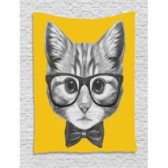 Country Decor, French Country Decor, Rustic Decor - What Is Your Style? Hipster Cat, Hipster Babies, Cat Shower Curtain, Cat Merchandise, Cat Logo, Animal Decor, French Country Decorating, Baby Design, Dorm Decorations