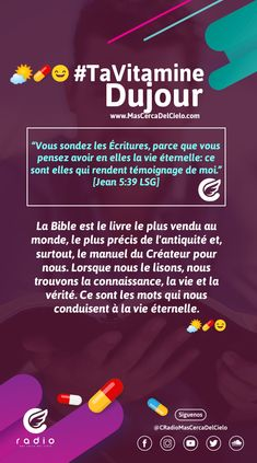 #TaVitamineDuJour #TuVitaminaDelDía French, Christians, Cover Pages, Psalm 4, Trust In God, Son Of God, Deceit, D Day, Thinking About You