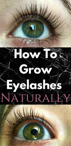 HOW TO GROW EYELASHES NATURALLY! Check out our favorite way to grow eyelashes naturally! Eyelash growth is centered around nutrients for the lashes, while there are many ways to grow eyelashes naturally, I think we have found the best!