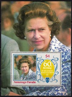 Tuvalu Nanumaga 1986 Queen Elizabeth II 60th Birthday Set Fine Mint                              SG Listed Scott 52 5  Other European and British Commonwealth Stamps HERE!