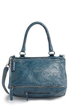 3e29934e05 Givenchy  Medium Pepe Pandora  Leather Satchel