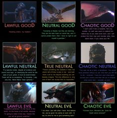 Godzilla Alignment Chart - Heisei by Adiraiju.deviantart.com on @DeviantArt