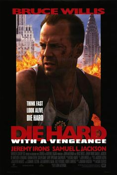 Die Hard with a Vengeance movie poster #movieposter #scifi #MovieReview #movietwit #movieposters #adventure #scififantasy #artwork #action