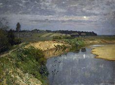 Исаак Левитан (1860-1900). Тишина. 1898. / X-Style