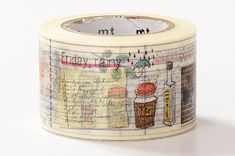 Cooking Chef Diary - Japanese Washi Masking Tape - mt ex - Scrapbooking, Collage, Gift Wrapping - MTEX1P88 - JapanLovelyCrafts