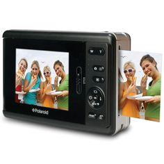want this! digital #Polaroid #camera - Hammacher Schlemmer #shopcoffeetable