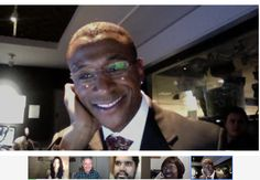 Hanging out with Tommy Davidson in a Google+ Hangouts On Air via FOX 11 LA