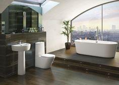 Arc Bathroom Suite Range : Victoria Plumb