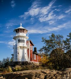 Lighthouse in Finland