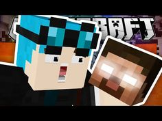The Diamond Minecart | Minecraft | WEARING HEROBRINE'S DISGUISE!! - YouTube