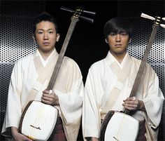 The Yoshida Brothers. Because I LOVE me some shamisen    me too! ^ ^