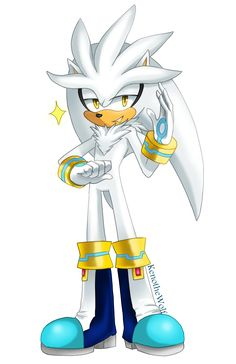 Silver is fabulous by KenotheWolf on DeviantArt Silver The Hedgehog, Sonic The Hedgehog, Sonic 3, Sonic Heroes, Sonic Adventure, Sonic Franchise, Amy Rose, Hedgehogs, Weird And Wonderful