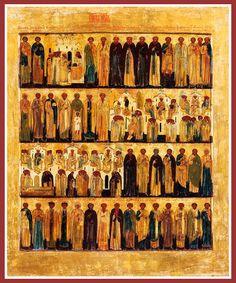 Saints of July: The July Menaion Icon ~ NicholsononAbortion