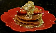 Wedding cake pancakes from Babycakes Truck in Chicago.    Would be so fun for a shower, morning after brunch, or unconventional wedding.     (773) 517-4454