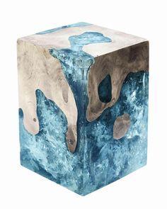 Cracked Resin on Pinterest | Resins, Petrified Wood and Teak