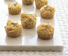 New Years Eve appetizers // Mini Crab Cakes... yum!