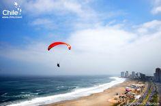 Paragliding in Brava Beach, Iquique, #Chile