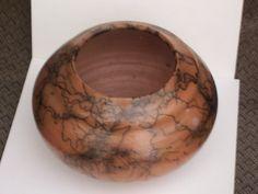 Horsehair Raku Pottery