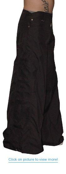 Ghast 32 Fat Bottom Raver Pants (Black), Wide Leg Rave Pants, Dance Team Pants