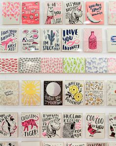 NYNOW Summer 2015 Stationery from The Great Lakes Goods, Gold Teeth Brooklyn, Yellow Owl Workshop, Crow and Canary and more! / Oh So Beautiful Paper Grafik Design, Stationery Design, Zine, Diy Cards, Craft Fairs, Paper Goods, Letterpress, Note Cards, Birthday Cards