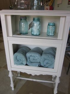 old cabinet like new with paint