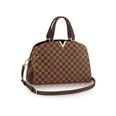 Kensington Bowling ($2,220) ❤ liked on Polyvore featuring bags, handbags, genuine leather handbags, brown leather purse, brown leather handbags, over the shoulder handbags and brown purse