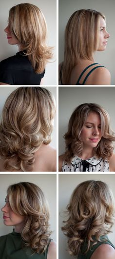 layered cut for curls or straight