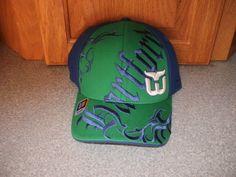 NEW REEBOK HARTFORD WHALERS ALL OVER FLEXFIT HAT CAP SMALL/MEDIUM S/M #WHALERS