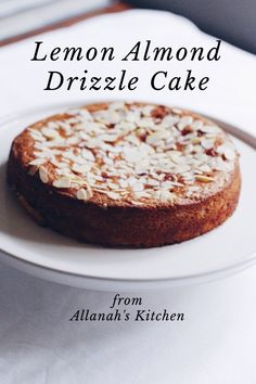Lemon Almond Drizzle Cake from Allanah's Kitchen Sometimes you have a circle of friends. You're at all the same dinner parties, birthday celebrations and get togethers. Then one night, you stay up late, drink plenty of wine and chat for hours with somebody