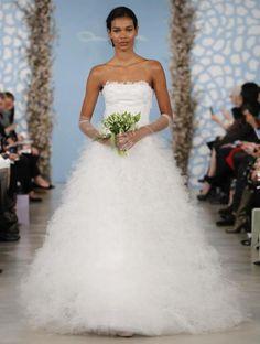 Wedding Dress by Oscar de la Renta Spring 2014 Bridal 20