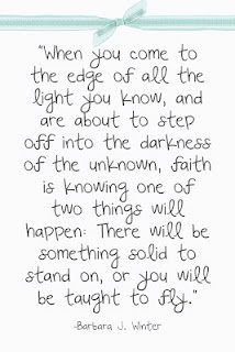 Faith. #quote @Kimberley Tocknell