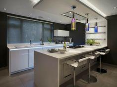 Küchenideen Und Ausstattung Mit Kücheninsel Und Moderne Akzente