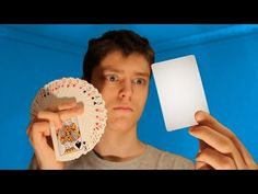 Rendre une Carte Invisible ! (Tuto Tour de Cartes) - YouTube Loom, Cool Stuff, Magick, Alphabet Drawing, Easy Cards, Loom Weaving