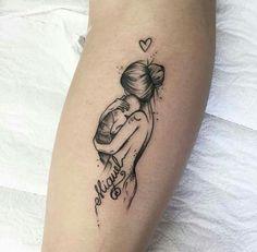 18 Newborn Tattoo Ideas Baby Tattoos Mom Tattoos Tattoos
