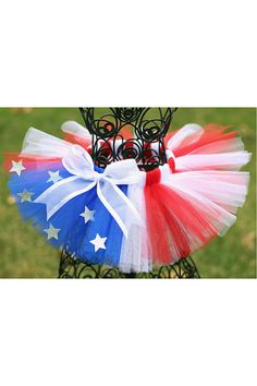 4th of July Patriotic Tutu... SoOoOoO cute!! Who is going to rock it with me for 4th of July?!?