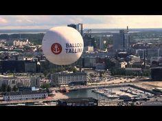 Kohoa heliumpallolla Tallinnan taivaalle. Tämä on hauska tapa tutkia kaupunkia yläilmoista. Balloon Tallinn -pallo nousee 120 metrin korkeuteen ja yhtäaikaa kyydissä voi sääolosuhteista riippuen olla enintään 30 matkustajaa. Tuulien vietäväksi et kuitenkaan karkaa, sillä se on kiinnitetty köydellä maahan. Kyytiin pääset aivan A-terminaalin vierestä. #balloon #ilmapallo #tallinn #tallinna #eckeroline