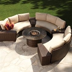 9 best outdoor curved sectionals images lawn furniture curved rh pinterest com