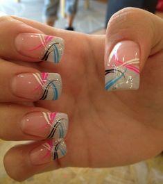 Mar 18 2020 - 50 beautiful nail art ideas for Spring Nails Design # Spring . Nail Tip Designs, Cute Summer Nail Designs, Cute Summer Nails, Fingernail Designs, French Nail Designs, Nail Designs Spring, Simple Nail Designs, Beautiful Nail Designs, Beautiful Nail Art