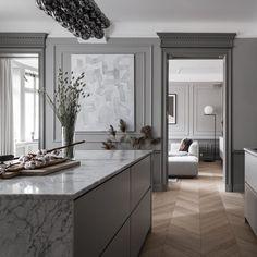 Home Design, Home Interior Design, Interior Decorating, Interior Plants, Interior Architecture, Home Decor Kitchen, Kitchen Interior, Piece A Vivre, Classic Interior