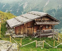 "5,846 Likes, 44 Comments - Cabin Porn (@cabinporn) on Instagram: ""Seewiesen Alm, an alpine cabin for shepherds in Osttirol, Debanttal, Austria.  Contributed by…"""