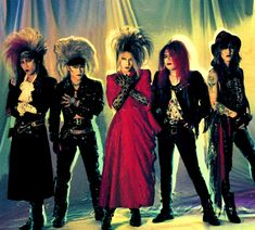 """The Visual Kei band """"X Japan"""" is often given credit for starting the whole craze. Description from hate-fashion.blogspot.com. I searched for this on bing.com/images"""