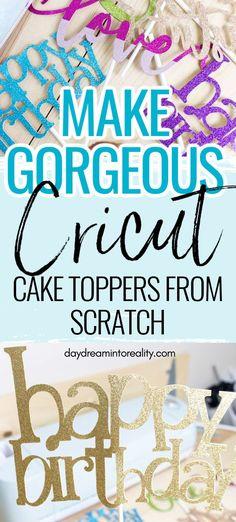 Cricut Craft Room, Cricut Vinyl Projects, Cricut Cake, Cricut Tutorials, Cricut Ideas, Cricut Cuttlebug, Circuit Projects, Cricut Creations, Photo Tutorial