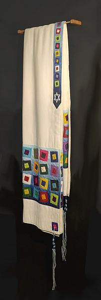 """Fraser Smith - """"Quilted Tallit 4"""""""