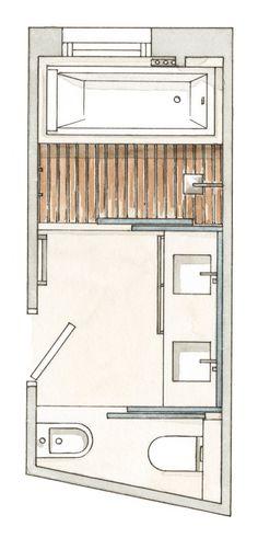 Baños prácticos hasta el último centímetro · ElMueble.com · Cocinas y baños