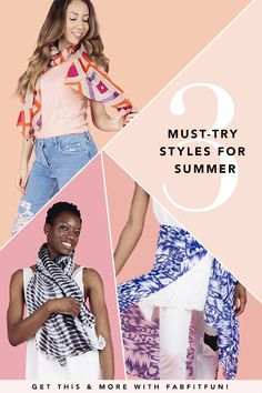 Kickstart your summer wardrobe with a lightweight, multi-purpose accessory that can be worn around your neck as a scarf, tied around your waist as a sarong, or draped over your shoulders like a shawl. Pretty much everything you need for summer! Get your Ruana today in your FabFitFun Summer Box!  Use code HAPPY + get your 1st box for $39.99