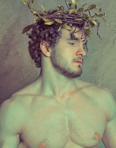 """""""The Mourning of Antinous"""" by Troy Schooneman. This particular portrait is inspired by numerous marble busts of the Roman Emperor Hadrian… Tableaux Vivants, Art Of Man, Gay Art, Male Beauty, Troy, Art Inspo, Art Reference, Character Inspiration, Art Photography"""